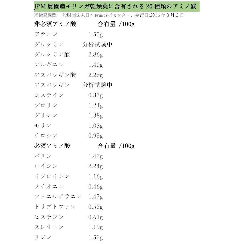 無農薬・無化学肥料のモリンガ葉100%使用・有機JAS認証(オーガニック)モリンガ茶・焙煎玄米入り(6.5g×12ティーバック)|green-moringa|04