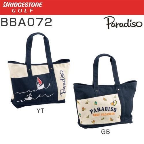 ブリヂストンゴルフ パラディーゾ BRIDGESTON GOLF Paradiso トートバッグ BBA072