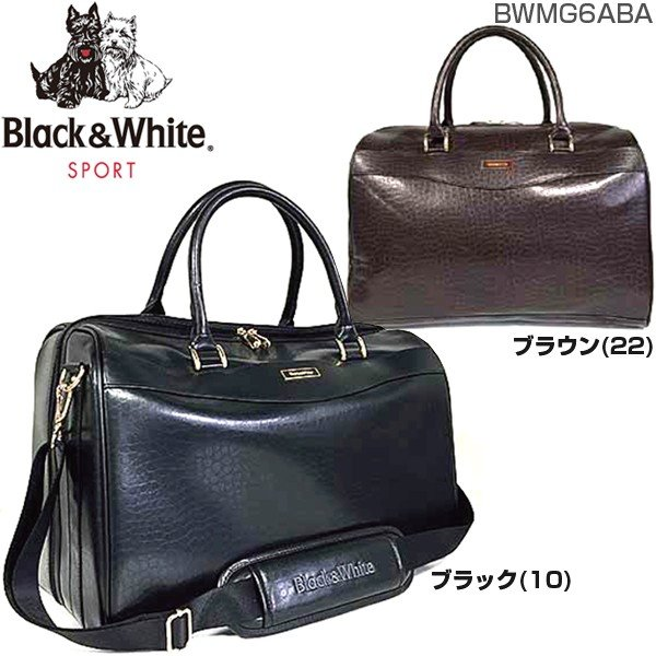 ブラック&ホワイト BLACK&WHITE クラシック ボストンバッグ BWMG6ABA