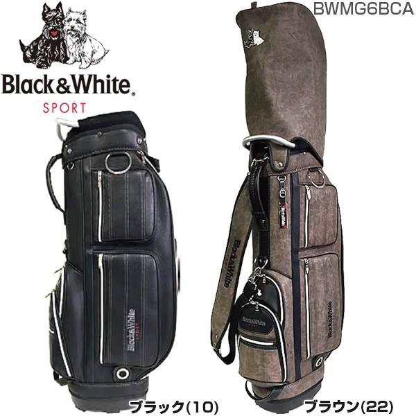 ブラック&ホワイト BLACK&WHITE カジュアル キャディバッグ BWMG6BCA