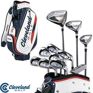 クリーブランドゴルフ メンズ PACKAGE SET ゴルフセット キャディバッグ付