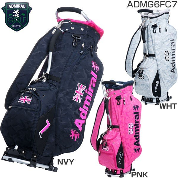 アドミラル ADMIRAL ゴルフ キャディバッグ カモジャガード スタンドバッグ ADMG6FC7