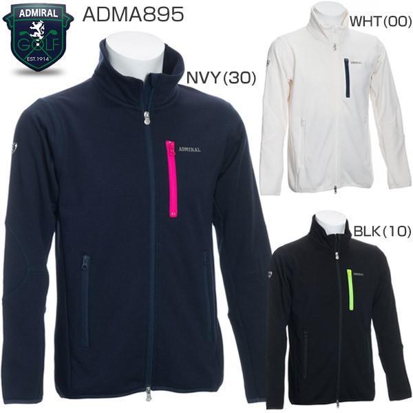 世界的に有名な 今なら7%OFFクーポン発行中 アドミラルゴルフ メンズウェア テクニカル フリース ジャケット ADMA895 2018年秋冬モデル M-LL, 晴富 b6a564e8