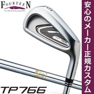 フォーティーン TP766 アイアン N.S. PRO 850GH シャフト 6本セット[#5-P] 特注カスタムクラブ
