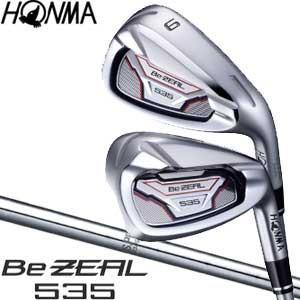 本間ゴルフ Be ZEAL 535 アイアン N.S.PRO 950GH シャフト 単品[#4、#5、#11、AW、SW]