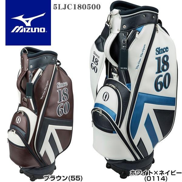 ミズノ ゴルフ THE OPEN カート キャディバッグ 5LJC180500