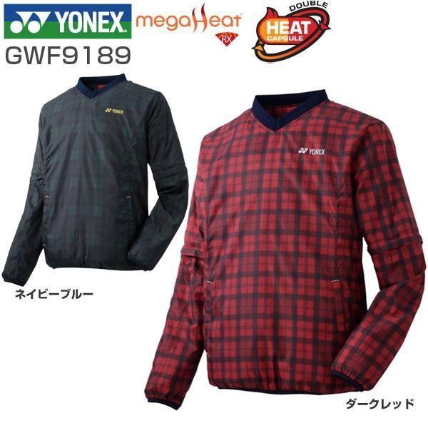 ヨネックス YONEX メンズ ゴルフウェア メガヒート ヒートカプセルダブル 2WAY Vネック ブレーカー GWF9189