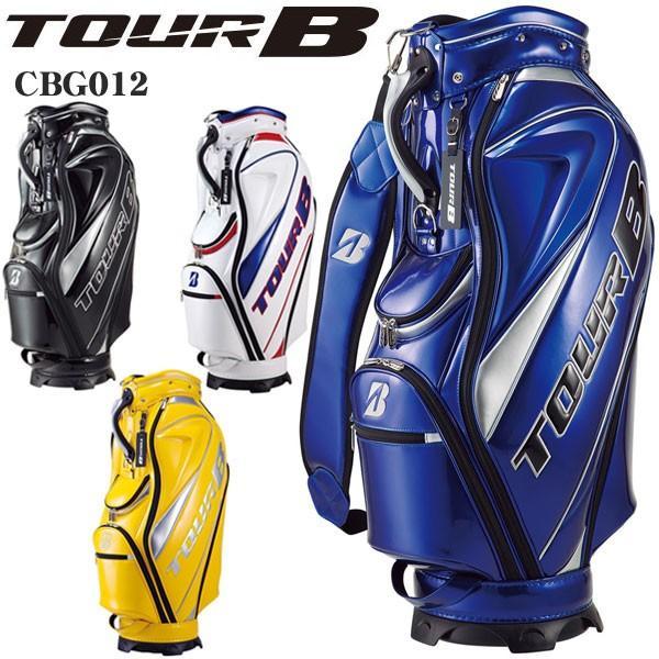 ブリヂストン ゴルフ TOUR B メンズ キャディバッグ 総エナメルモデル CBG012