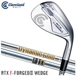 クリーブランドゴルフ RTX F-FORGED II ウエッジ ダイナミックゴールド シャフト 特注カスタムクラブ