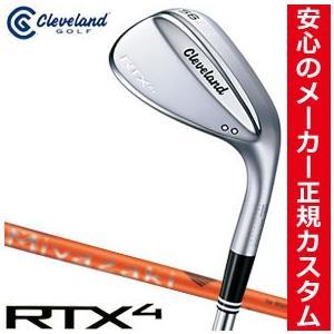 クリーブランドゴルフ RTX-4 ツアーサテン ウエッジ Miyazaki Kaula 8 for Wedge シャフト 特注カスタムクラブ