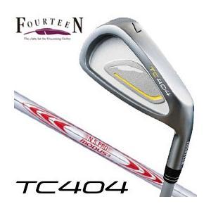 フォーティーン TC404 アイアン N.S.PRO MODUS3 TOUR130 シャフト 5本セット(#6-P) 特注カスタムクラブ