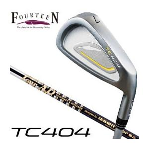 フォーティーン TC404 アイアン グラファイトデザイン ツアーAD 65 / 75 / 85 /95 シリーズ シャフト 5本セット(#6-P) 特注カスタムクラブ