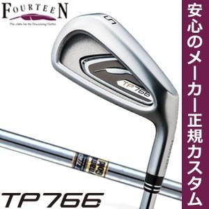 フォーティーン TP766 アイアン ダイナミックゴールド シャフト 6本セット[#5-P] 特注カスタムクラブ