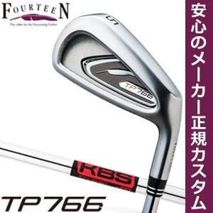 フォーティーン TP766 アイアン KBS TOUR 90 シャフト 6本セット[#5-P] 特注カスタムクラブ