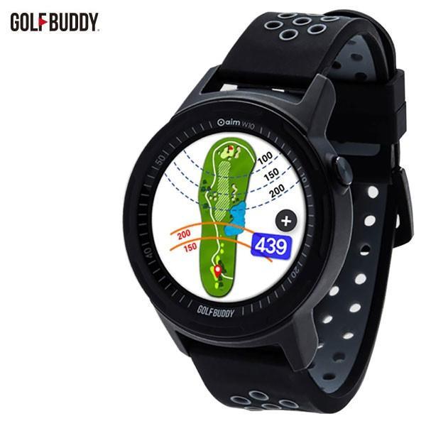 【メール便不可】 今だけ7%OFFクーポン発行中 ゴルフバディ aim W10 ゴルフナビ スマートウォッチ GPS距離計, 鰍沢町 4bf43cd5
