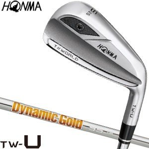 本間ゴルフ ツアーワールド TW-U III ユーティリティ Dynamic ゴールド 95 シャフト