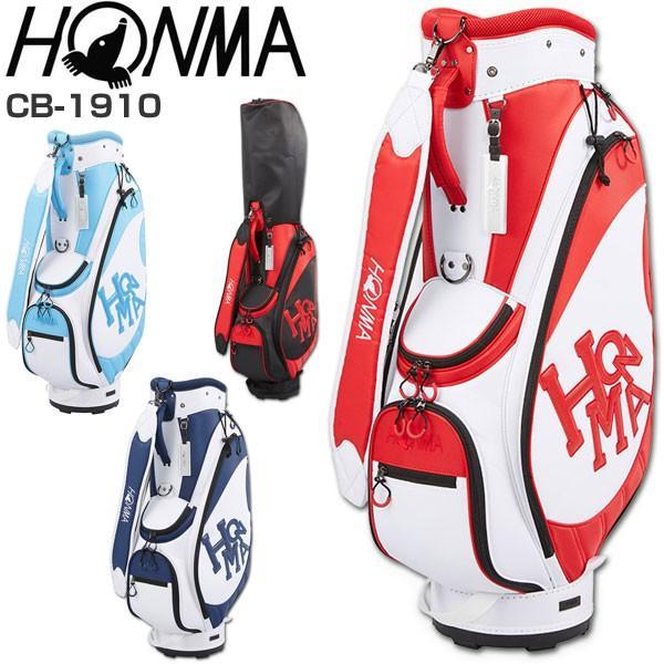今なら最大10%戻ってくる 500円引きクーポンも発行中 本間ゴルフ キャディバッグ Dancing HONMA カジュアルモデル CB-1910