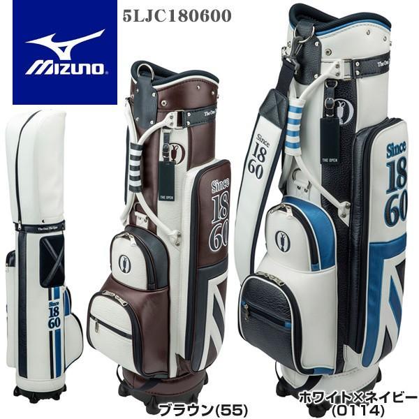 ミズノ ゴルフ THE OPEN スリム キャディバッグ 5LJC180600
