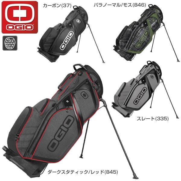 オジオ OGIO GOLF スタンドタイプ キャディバッグ SILENCER 125050J7 2017年モデル