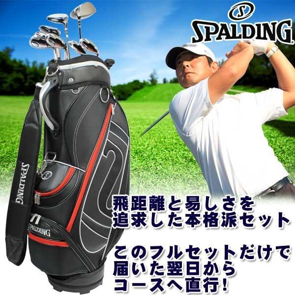 スポルディング ツアープログラインド NP-03 メンズゴルフ 10本セット+キャディバッグ付