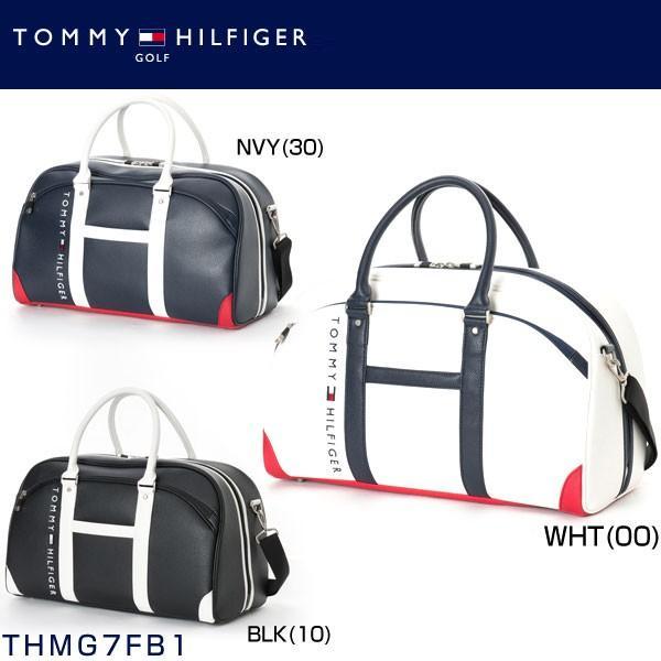 トミー ヒルフィガー ゴルフ TOMMY HILFIGER THE FACE ボストンバッグ THMG7FB1