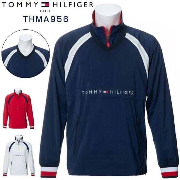 トミーヒルフィガー ゴルフウェア プルオーバー ウィンドジャケット THMA956 2019年秋冬モデル M-XL