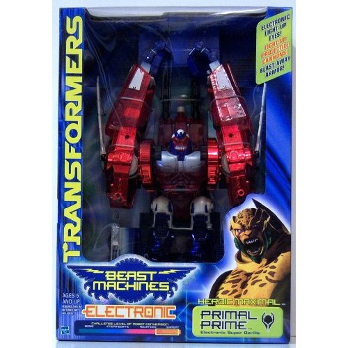 Transformers Beast Machines Electronic Primal Prime