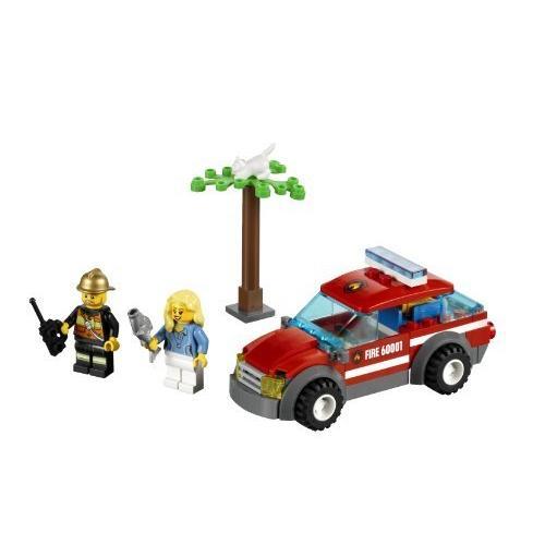 レゴシティ☆ Fire Chief Car 60001 品並行輸入品 greenshop12 03