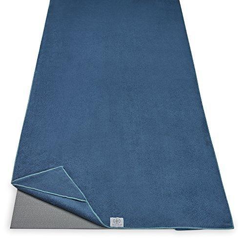 (Lake) - Gaiam Stay-Put Yoga Towel並行輸入|greenshop12