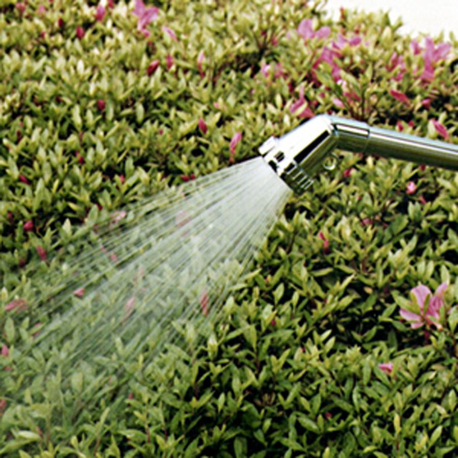 ノズル 手元止水 ノズル メタルシャワーLRコック付 G253 takagi タカギ 安心の2年間保証 水やり 水まき ホース ガン ノズル 洗車|greentools|02