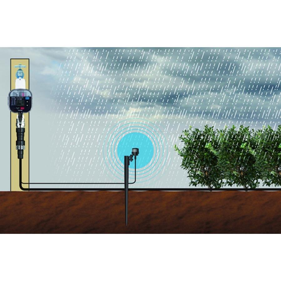 自動水やり タイマー かんたん水やりタイマー 雨センサー付 GTA211 灌水 takagi タカギ 安心の2年間保証|greentools|04