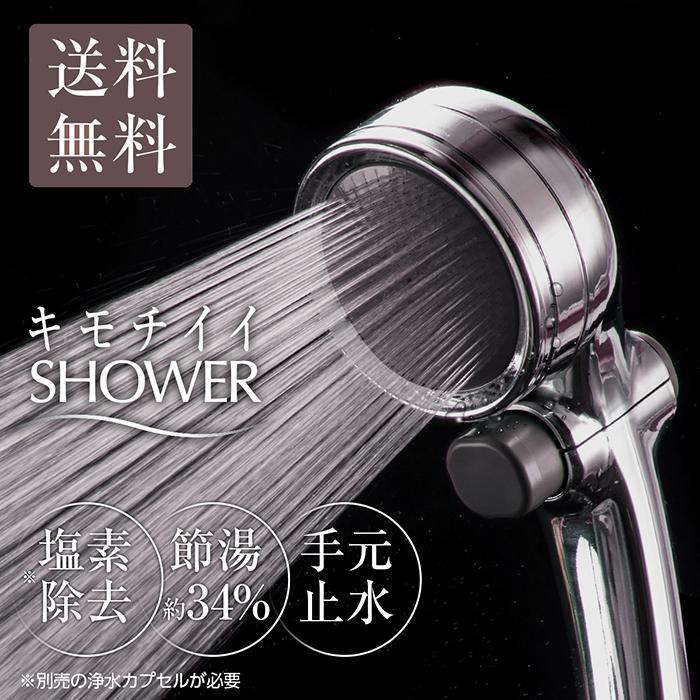 シャワーヘッド 節水 塩素除去 手元止水 浄水シャワー メタリックキモチイイシャワピタWT JSB022M takagi タカギ 安心の2年間保証|greentools