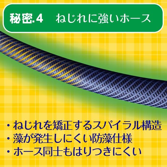 ホースリール 20m おしゃれ タカギ カバー付き 送料無料 BOXYツイスター RC220TNB takagi 安心の2年間保証|greentools|06