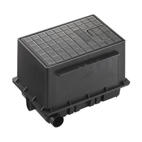三栄 SANEI 散水栓ボックスセット 黒 R81-92S-D 代引き不可・同梱不可