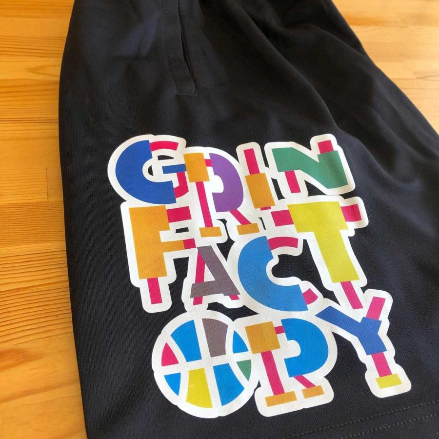 バスパン「Match(マッチ)」(140-3L)バスケットボール練習用パンツ バスケパンツ ドライ(受注後制作/5-7営業日発送) grin-factory 11