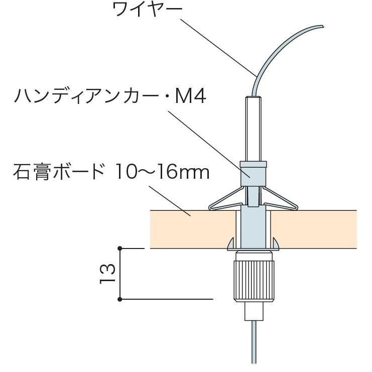 M4ボードアンカー|gripshop|02
