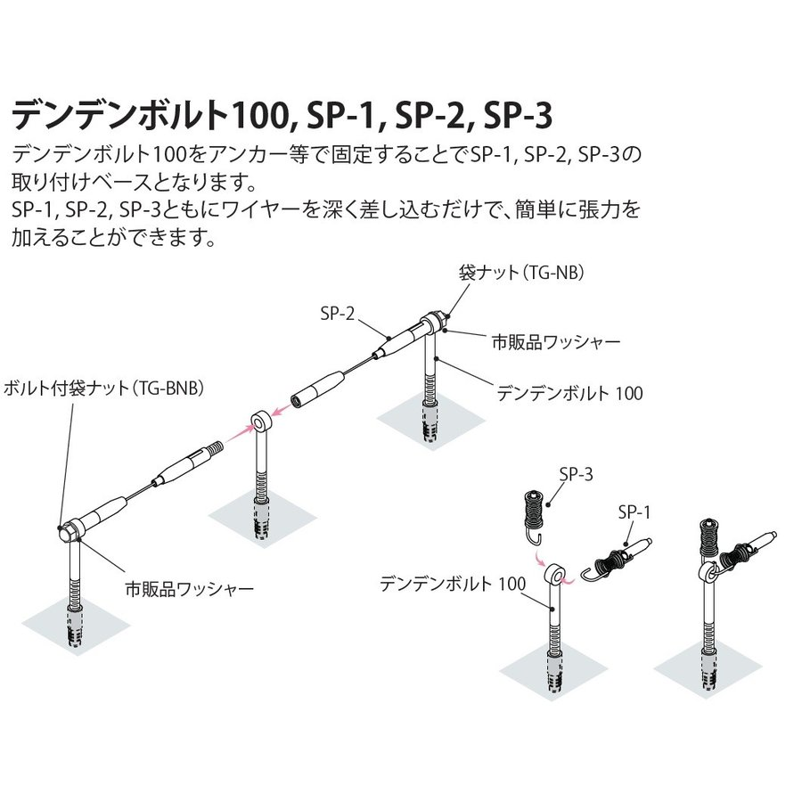 SP-2(片ボールワイヤーφ1.5用)|gripshop|04