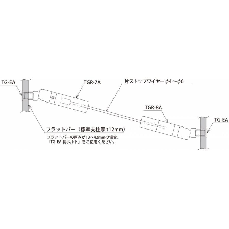 TGR-7A (M12メス・傾斜・端末ホールド側・φ3 片ストップワイヤー用) gripshop 03