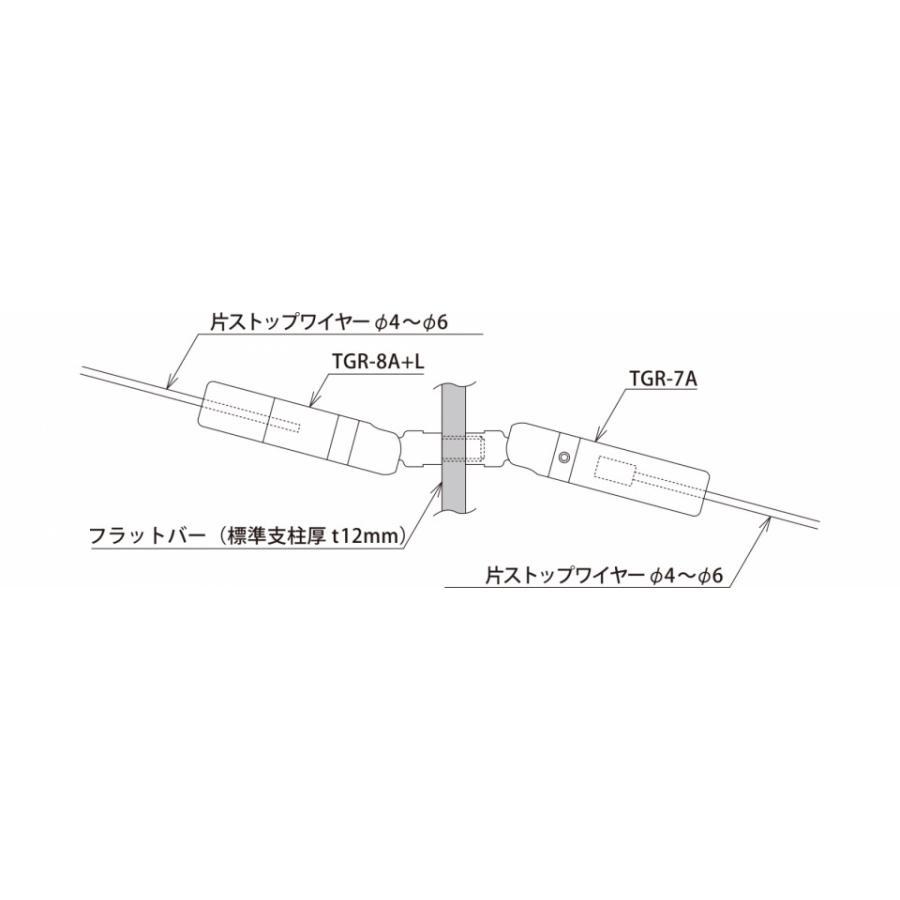 TGR-7A (M12メス・傾斜・端末ホールド側・φ3 片ストップワイヤー用) gripshop 04