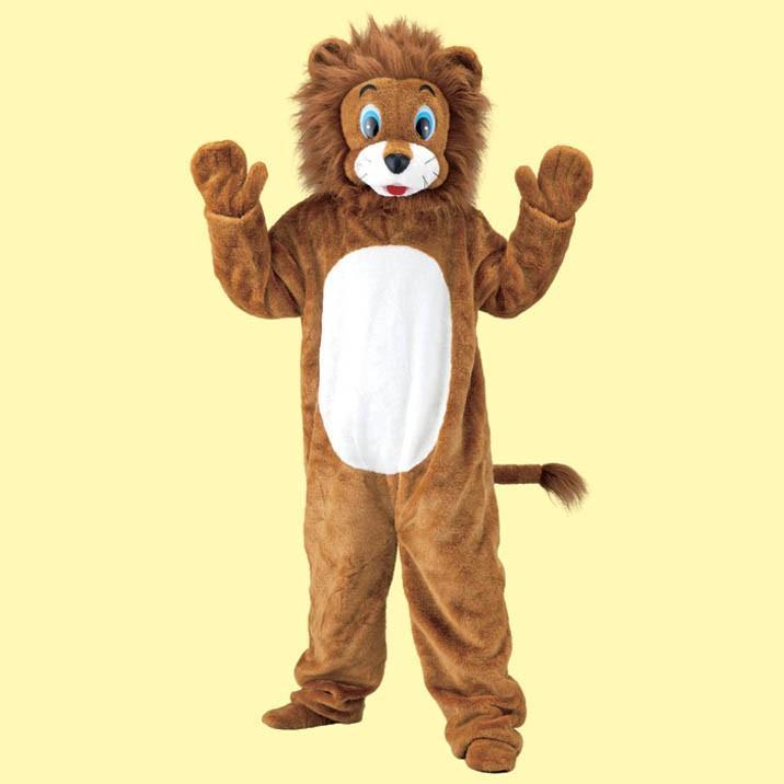パーティーグッズ 着ぐるみ ライオン衣装 らいおん 動物 アニマル 仮装 変装 衣装
