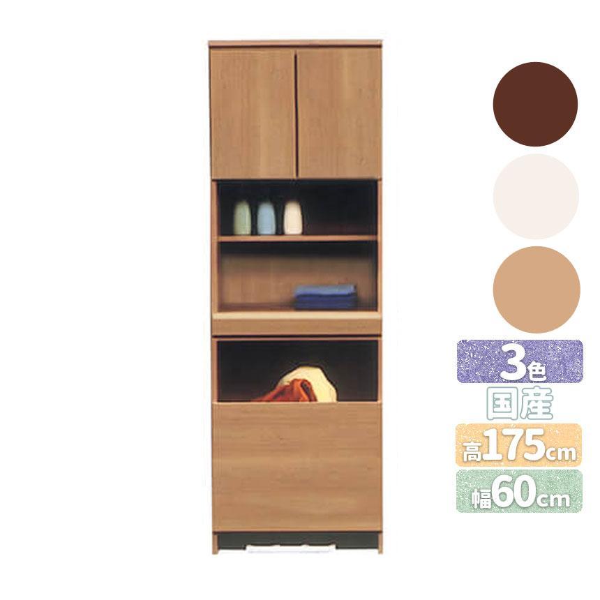 mk-13727隙間家具 【ランドリー60cm】サニタリー収納 国産工場生産