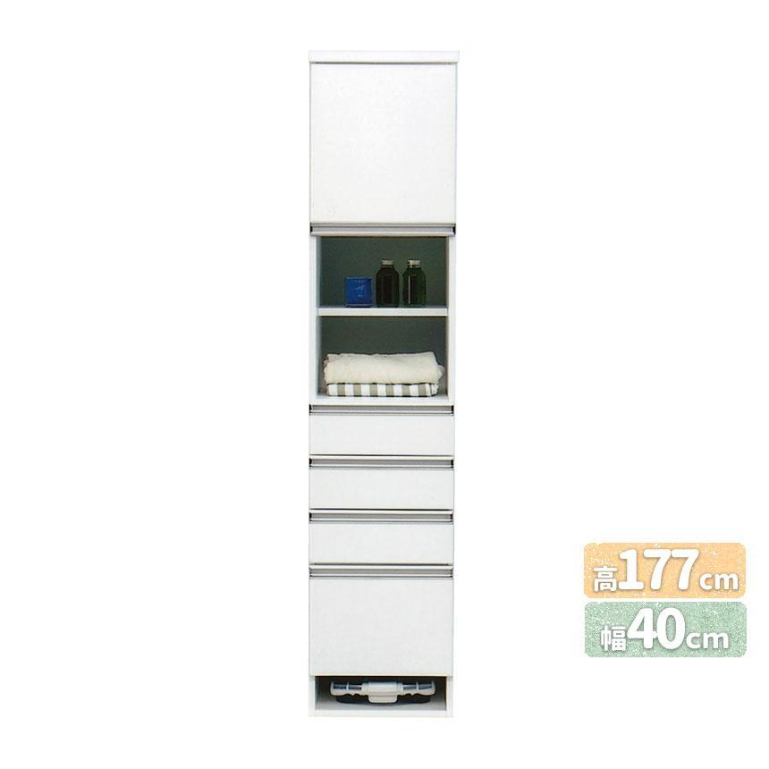 mk-7751【幅40cm】 ランドリーボックス 引き出し 洗面所 脱衣所