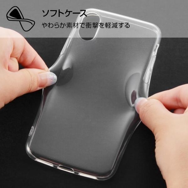 スマホケース iPhone XS X TPUソフトケース ウルトラクリア クリア  アイフォン|gs-net|04