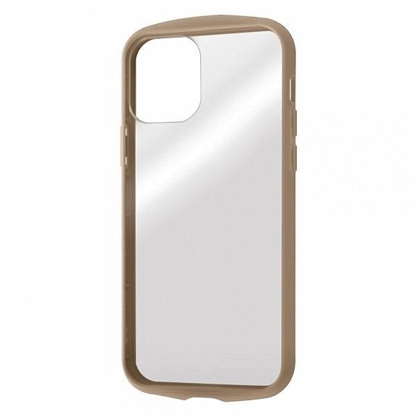 スマホケース iPhone 12 Pro 12 耐衝撃HVPuffull CL ベージュ  アイフォン gs-net