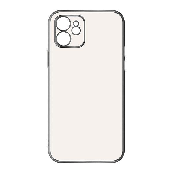 スマホケース iPhone 12 Perfect Fit メタリック シルバー  アイフォン|gs-net|02