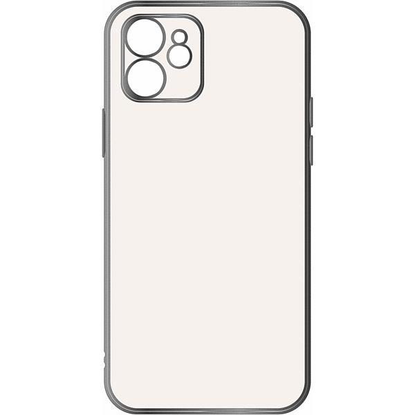 スマホケース iPhone 12 Perfect Fit メタリック シルバー  アイフォン|gs-net|03