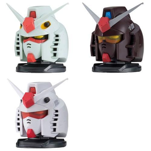 Bandai Gundam Exceed Model Gundam Head Collection Vol.1 Gashapon Set of 3