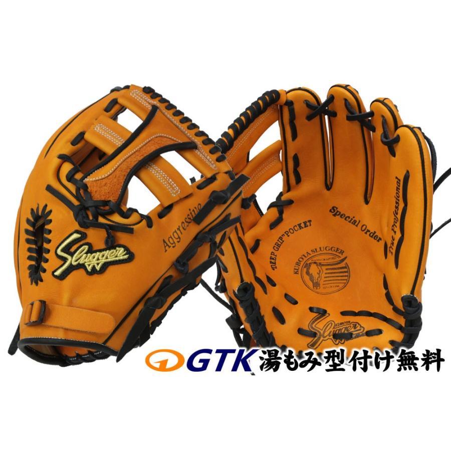 久保田スラッガー 軟式 グローブ オーダー 19SE W-41 K9ラベル KSオレンジ 投手・三塁・オールラウンド用