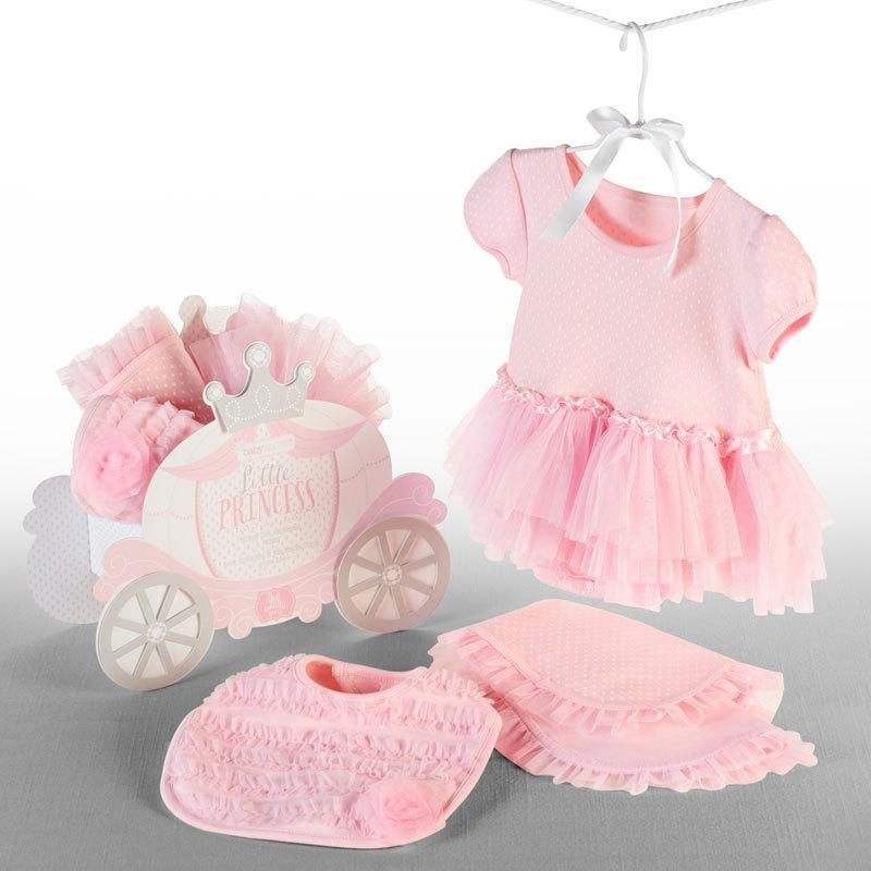 ベビーアスペン ギフト 3点セット 0〜6ヶ月 リトルプリンセス BABY ASPEN (ベビーシャワー 出産祝い 女の子 1歳 )|gudezacom|02
