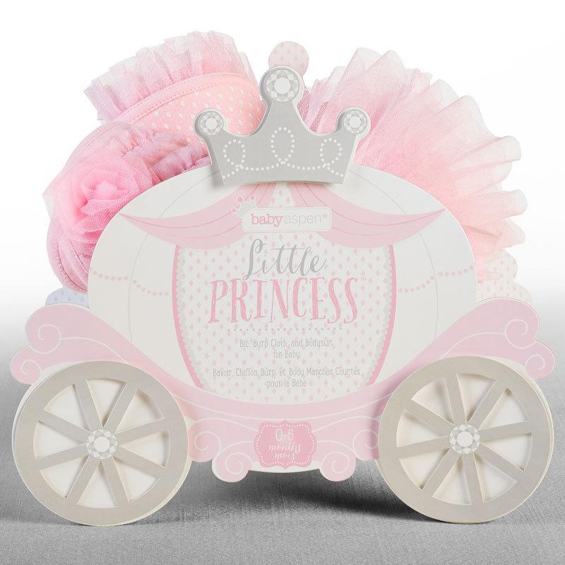 ベビーアスペン ギフト 3点セット 0〜6ヶ月 リトルプリンセス BABY ASPEN (ベビーシャワー 出産祝い 女の子 1歳 )|gudezacom|03